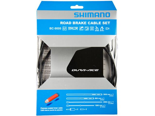 Shimano Dura Ace Bremsekabel sæt sort